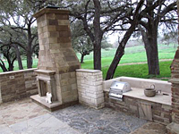 Natural Stone Sample Walls Patio And Outdoor Living