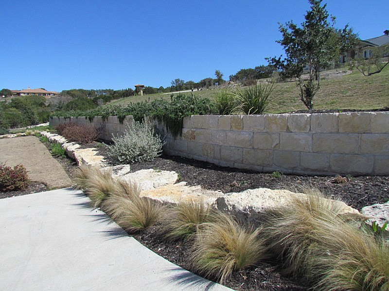 Landscape Boulders Dallas Tx : Landscapes and retaining walls